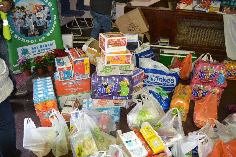 Sai School Food Bank Appeal Sai School Of Harrow